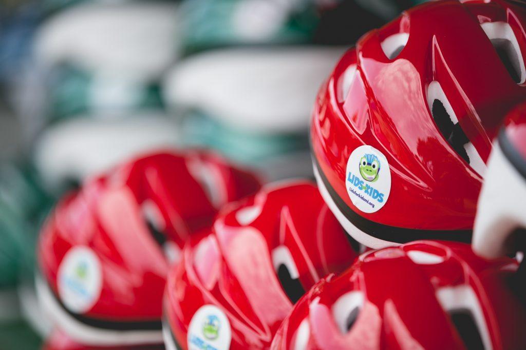 Grand Rapids Lids for Kids Bike Helmet Giveaway in Michigan