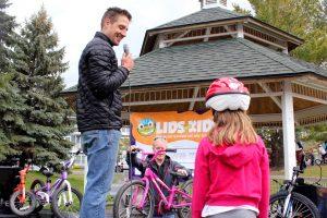 Traverse City Lids for Kids Bike Helmet Giveaway In Michigan